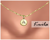  K Tiny Necklace A