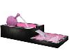 Pink Plaid Fountain