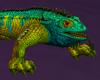 Female Iguana Teal