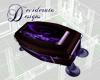 Animated Purple Coffin