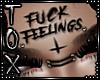 FEELINGS FACE TATT/PIERC