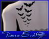 Bat Flight Back Tattoo