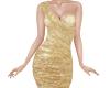 TF* Sexy Gold Lame Dress
