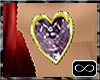 [CFD]Feb-Amethyst Hearts