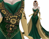 Masquerade Gown Green