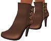 Mocha Mina Ankle Boots