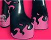 ʞ- 火 Pink Boot
