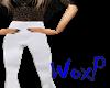 High white pants -Wx-