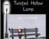 Twisted Hollow Lamp