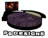 PB Cir Pose Bed Purple