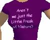 ~S~ Freak Tee Purple