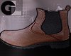 GL| Chestnut Low Boots