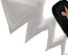 B! White Bolt PVC Tail