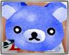 [DL]bear blue backpack