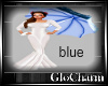 Glo* VintageParasol~blue