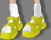 Cyan Shoes