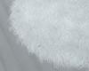 "White fur rug """