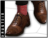 d| Brogues/Red socks