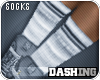 [Ds]Tube Socks Gray;