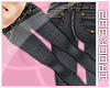 [irk]Gold Trim.BLK Jeans