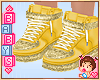 ! Kids Yellow Shoes *