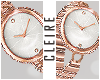 !C♔Rose Gold Watch!