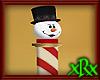 Snowman Candy Pole