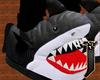 J| Shark Slippers .F