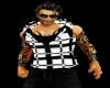 B/W Muscled Hoody shirt