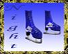 -ND- Blue Ice Skates