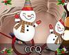 [CCQ]Snowman Glasses