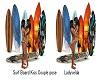 Surf Board Kiss