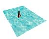 poseless water rug