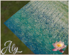 Water Lilies Picnic Rug