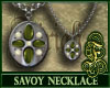Savoy Necklace Green