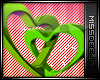 *MD*Love Heart | Lime