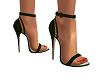 Elegant Green Heels