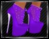 Purple Shoes w/Socks