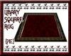 {Pie}Library Square Rug
