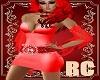 RC RED PRINSESS DRESS