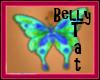 BlueGreen Butterfly Tat