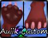 Custom| Rosia Feet Paws