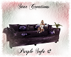 -S- Purple Sofa #2