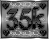 35k SUPPORT STICKER