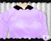 {K} Pastel Sweater Purpl