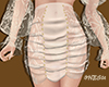 LACE FABRIC (NUDE) SKIRT