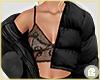 £. Black Puffer Jacket