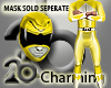 Yellow ranger fit (male