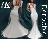 !K! Delure Rose Gown 1