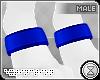 . paw cuffs | blue